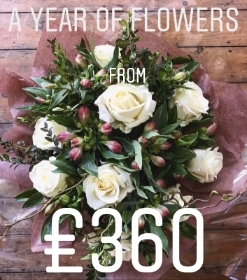 12 month subscription flowers