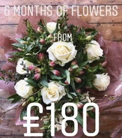 6 month subscription flowers